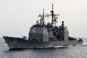 Mỹ điều tuần dương hạm thách thức Trung Quốc ở Hoàng Sa