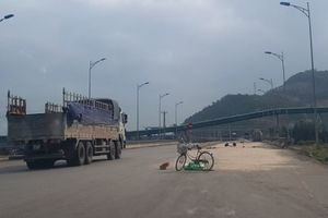 Mất ATGT trên trục đường của Khu kinh tế Nghi Sơn