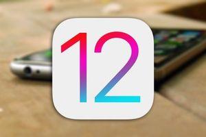 Hơn 75% người dùng chấp nhận sử dụng hệ điều hành iOS 12