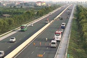Diễn tập chống ùn tắc, cứu hộ, cứu nạn trên cao tốc Hà Nội-Hải Phòng