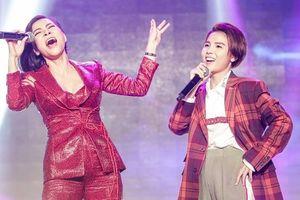 Lần đầu tiên song ca, Thu Minh gây thích thú khi nhận xét Vũ Cát Tường bằng 3 từ 'That's my girl'