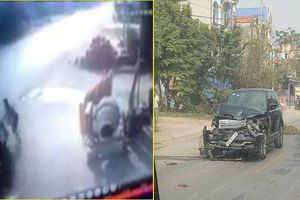 Tài xế ô tô tông chết hiệu trưởng trường tiểu học ở Thái Nguyên rồi bỏ chạy