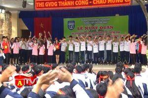 Quyết tâm chinh phục ngôi vị cao nhất của mùa giải bóng đá học sinh THPT Hà Nội