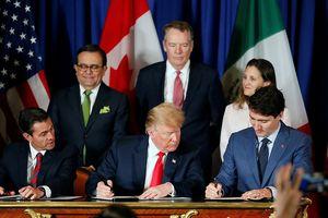 Mỹ - Mexico - Canada ký hiệp định thương mại mới thay thế NAFTA