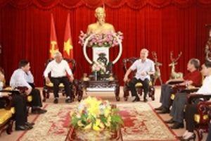 Phó Chủ tịch Quốc hội Uông Chu Lưu thăm và làm việc tại Đồng Nai