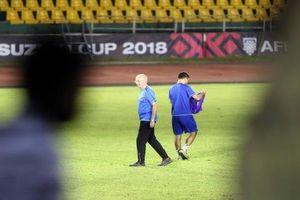 Philippines tập lậu trước trận bán kết AFF Cup 2018 với đội tuyển Việt Nam