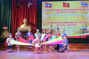 Trường Đại học Vinh kỷ niệm Quốc khánh 2 nước Lào và Thái Lan