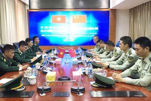 Hội đàm về công tác phối hợp quản lý, bảo vệ biên giới