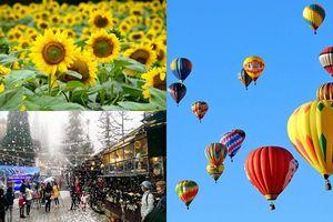 Tháng 12 phải để dành thời gian tới những lễ hội rộn ràng khắp Việt Nam