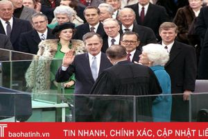Những hình ảnh đáng nhớ về cựu Tổng thống Bush cha