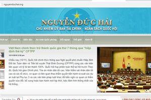 Khó xử lý tận gốc nhiều website mạo danh lãnh đạo Đảng, Nhà nước