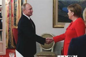 Thủ tướng Angela Merkel gặp Tổng thống Putin và Trump tại Buenos Aires
