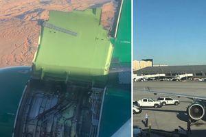 166 hành khách trải qua 15 phút hoảng loạn nhất đời khi động cơ máy bay rách toạc trên không