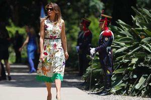 Bà Melania Trump nổi bật tại hội nghị G20 với váy hàng hiệu giá gần 5.000 USD