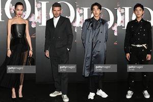 David Beckham cùng Nam Joo Hyuk, Ezra Miller và Phi Vũ tham dự sự kiện thời trang tại Tokyo