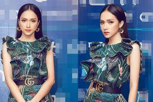 Không hổ danh 'nữ hoàng thảm đỏ', Hương Giang chinh phục ngon ơ bộ đồ siêu kén dáng