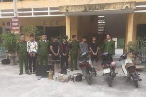 Thái Bình: Đột nhập vào chùa trộm tiền công đức, 5 đối tượng bị bắt