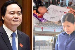 Bộ trưởng Phùng Xuân Nhạ chỉ 'cảm thấy buồn' về vụ việc học sinh bị tát 231 cái!