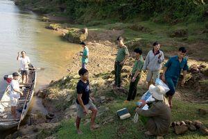 Quảng Ngãi: Tìm kiếm hai em nhỏ mất tích nghi đuối nước
