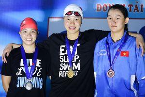 Ánh Viên thiết lập 2 kỷ lục bơi đại hội TDTT