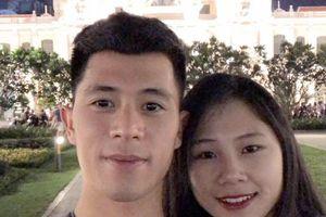 Bạn gái xinh xắn của trung vệ Trần Đình Trọng