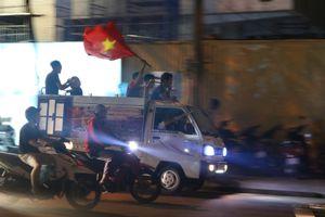 Cổ động viên Đà Nẵng đổ ra đường sau chiến thắng của tuyển Việt Nam