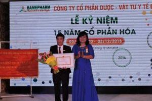 Sau 15 năm cổ phần hóa, Bamepharm nộp ngân sách cao nhất tỉnh Đắk Lắk