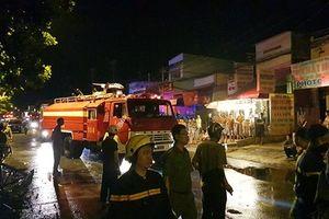 TP.HCM: Cháy khu trọ lúc nửa đêm, 1 nữ công nhân tử vong