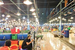 Mỗi ngày chợ nông sản Thủ Đức đón hơn 3.700 tấn hàng