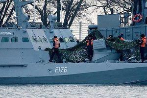 Pháp, Đức 'khuyên' Nga thả các thủy thủ Ukraine