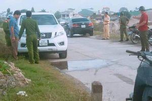 Phát hiện thi thể Thượng úy công an trong ô tô khóa chặt