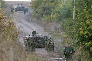Quân đội Ukraine rầm rộ tập trận ngay sát biển Azov giữa lúc căng thẳng với Nga