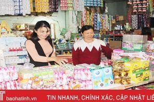 Xã ven đô Hà Tĩnh phát triển thương mại – dịch vụ