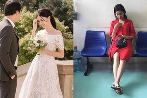Rò rỉ hình ảnh Á hậu Thanh Tú đi khám thai trước ngày cưới?