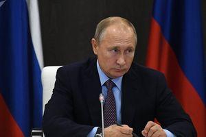 Ông Putin 'bóc mẽ'' việc Tổng thống Ukraine áp đặt thiết quân luật