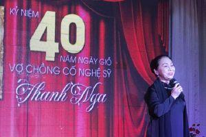 Nhiều nghệ sĩ tưởng nhớ 40 năm ngày mất của cố NSƯT Thanh Nga