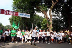 Chạy 'Vì trẻ em Hà Nội 2018'