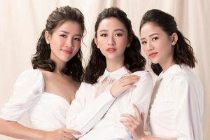 Hơn cả Mai Phương Thúy, Á hậu Hà Thu có tới hai cô em gái siêu xinh, đúng là chị nào em nấy