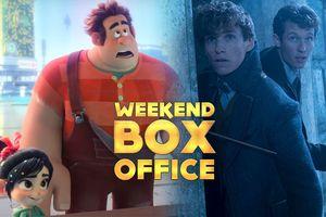 Phòng vé Bắc Mỹ có một dịp cuối tuần nhạt nhòa mở đầu tháng 12: Dẫn đầu là 2 phim hoạt hình
