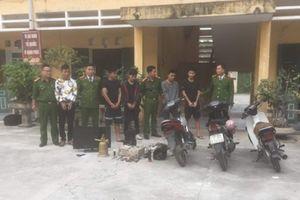 Thái Bình: Bắt 5 đối tượng phá két sắt lấy tiền công đức