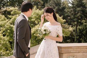 Ngắm bộ ảnh cưới của Á hậu Thanh Tú và chồng đại gia hơn 16 tuổi