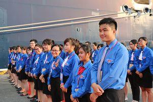 TPHCM đón Tàu thanh niên Đông Nam Á và Nhật Bản lần thứ 16
