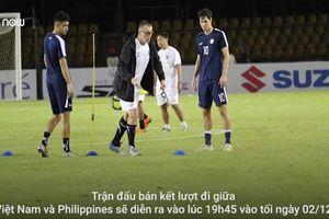 HLV Eriksson giấu bài tại buổi tập cuối trên sân Panaad