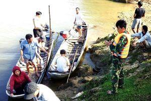 Tìm thấy thi thể 1 trong 2 em nhỏ mất tích nghi bị chết đuối ở Quảng Ngãi