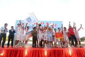 Giải bóng đá học sinh THPT Hà Nội - Báo An ninh Thủ đô 2018 có chủ nhân ngôi vô địch mới