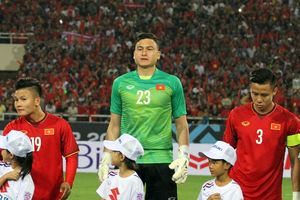 Thủ môn tuyển Việt Nam xác lập kỷ lục AFF Cup