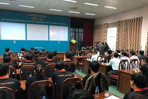 27 cơ quan nhà nước tại Vĩnh Phúc diễn tập đảm bảo an toàn thông tin mạng