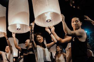 Đến Thái Lan, nhất định phải một lần xem lễ hội đèn trời Yee Peng