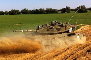 Xe tăng Merkava 4 Barak mới nhất của Israel