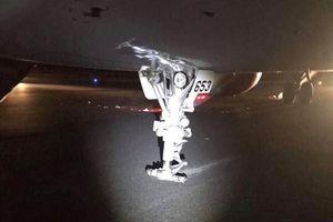 Bộ GTVT thông tin về tiến trình điều tra vụ máy bay Vietjet 'hạ cánh bằng càng'